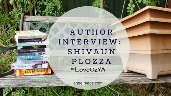 #LoveOZYA Author Interview: Shivaun Plozza