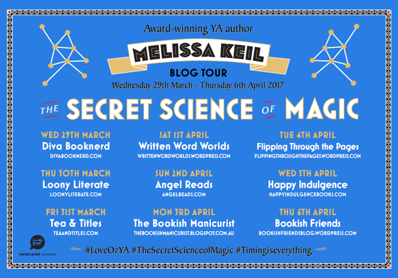 Secret Science of Magic Blog Tour