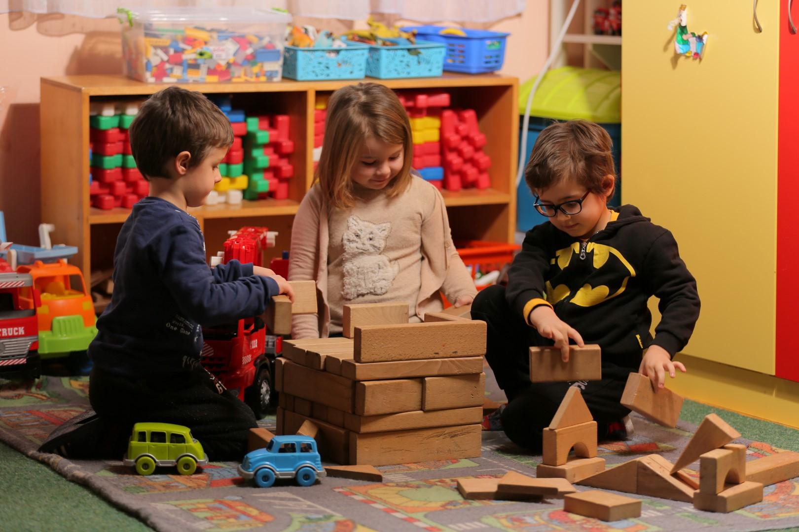 Згрижување на деца во Градинка (2-6 години)