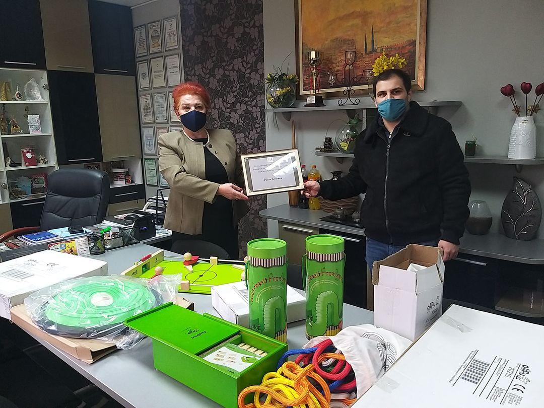 Донација на дидактички материјал