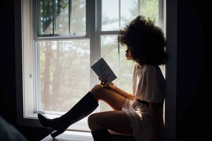 Literature  rooted  me in  my Identity