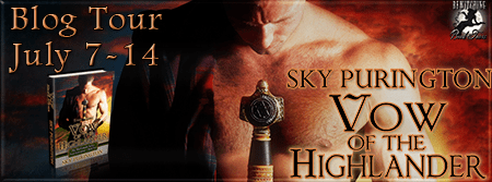 Vow of the Highlander Banner 450 x 169