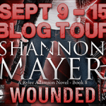 Character Interview: Rylee Adamson (Wounded Book Tour) by Shannon Mayer ~ Excerpt