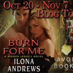 Spotlight: Burn for Me (Hidden Legacy #1) by Ilona Andrews ~ #Excerpt