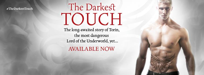 The Darkest Touch Available Now Banner