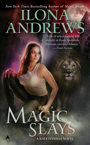 Magic Slays Book Cover
