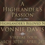 ARC Early Review: A Highlander's Passion (Highlander's Beloved #2) by Vonnie Davis ~ Excerpt/Giveaway