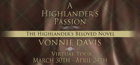A Highlander's Passion - Banner