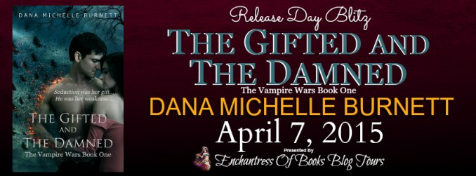 The Gifted and the Damned Release Day Blitz Banner