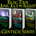 GenTech Rebellion Series by Ann Gimpel {Tour} ~ Excerpt(s)