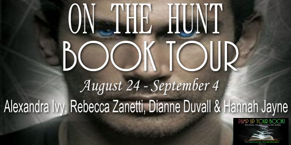 On the Hunt Book Banner