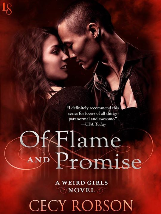 Of Flame and Promise Book Cover