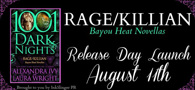 RAGE_KILLIAN - Release Day Launch banner