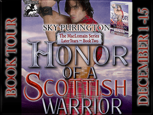 Honor of A Scottish Warrior Button 300 x 225