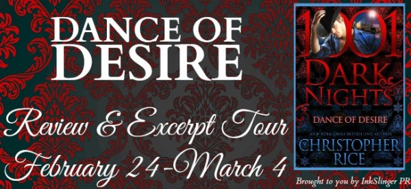Dance of Desire - Tour banner