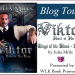 Viktor: Heart of Her King (Kings of the Blood #1) by Julia Mills {Tour} ~ Teasers