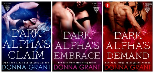 Reapers Series Bk 1 - 3 Collage