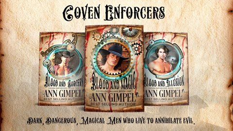 Coven Enforcers Series by Ann Gimpel Banner