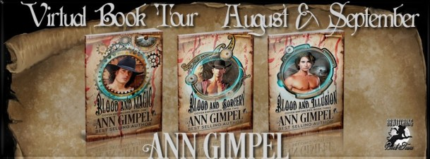 Coven Enforcers Series by Ann Gimpel Banner 851 x 315