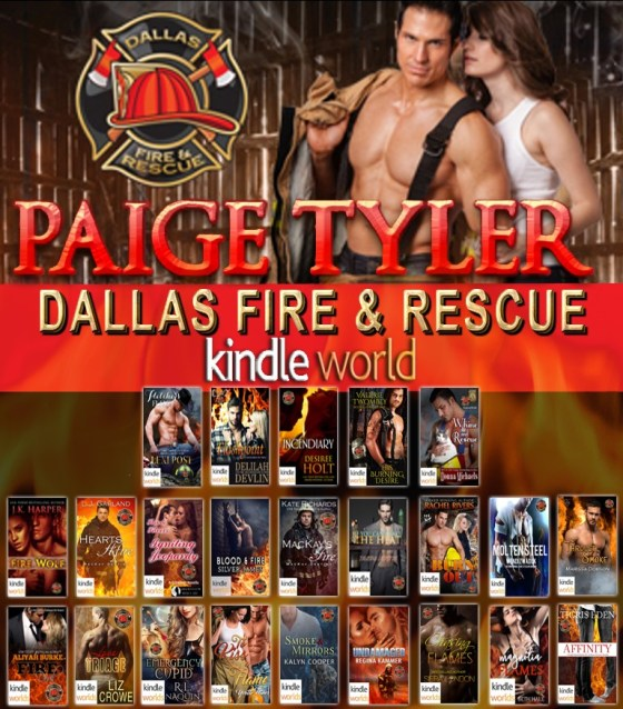 Paige Tyler's Dallas Fire & Rescue Kindle World-banner-3