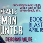 ARC Review: The Unlikeable Demon Hunter (Nava Katz #1) by Deborah Wilde {Tour} ~ Excerpt
