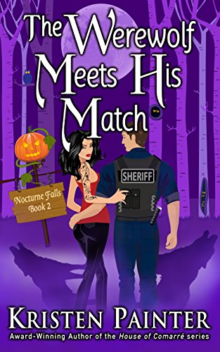 The Werewolf Meets His Match Book Cover