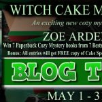 Witch Cake Murders (Sweetland Witch) by Zoe Arden (Tour) ~ Giveaway/Excerpt