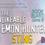 Book Blast: The Unlikeable Demon Hunter: Sting (Nava Katz #2) by Deborah Wilde ~ Giveaway/Excerpt