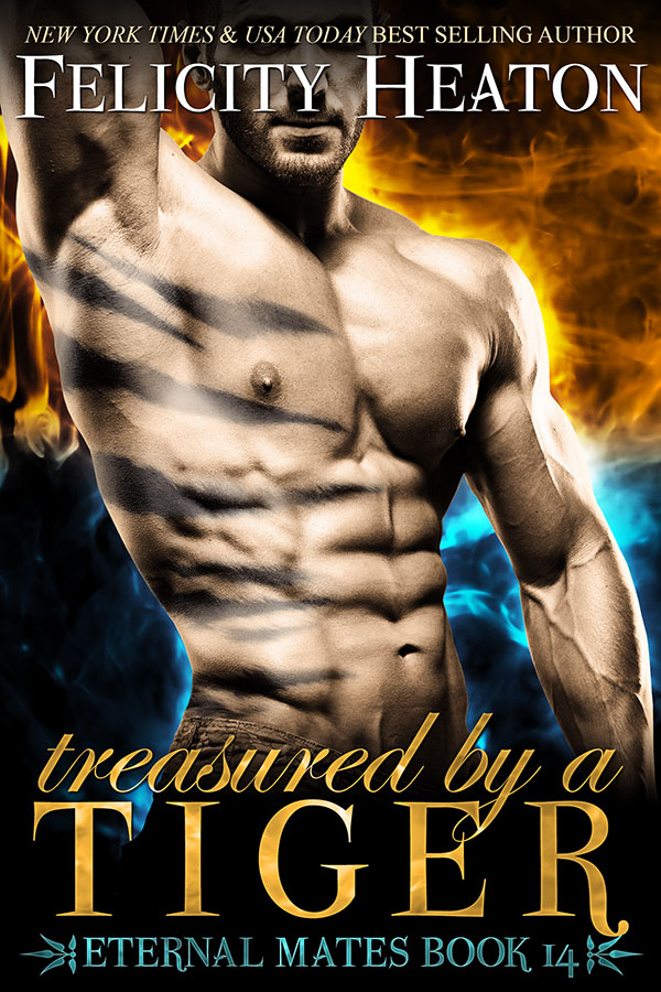 Treasured by a Tiger Book Cover