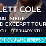 It's Release Day! Final Siege by Scarlett Cole ~ Giveaway/Excerpt