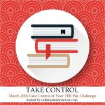 It's March & Take Control Of Your TBR Pile Challenge Has Begun!