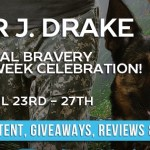 It's Release Day! Total Bravery (True Heroes) by Piper J. Drake