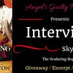 Interview: The Seafaring Rogue by Sky Purington ~ Giveaway/Excerpt