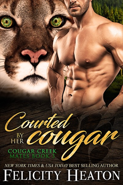 Courted by her Cougar Book Cover