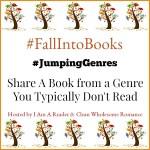 #FallIntoBooks #JumpingGenres