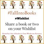#FallIntoBooks #Wishlist