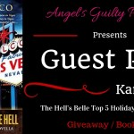 Guest Post: The Hell's Belle Top 5 Holiday Songs Ranked (Sin City Salvation by Karen Greco) ~ #Giveaway #Excerpt #BookTour