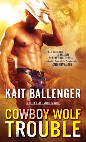 Cowboy Wolf Trouble Book Cover
