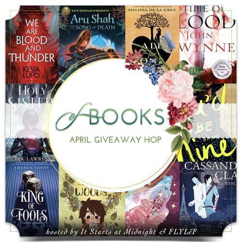 April Book of Choice Giveaway Hop ~ April 1st - 30th