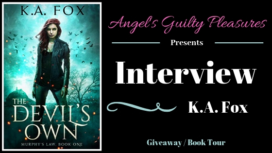 Interview: K.A. Fox (The Devil's Own) ~ #Giveaway