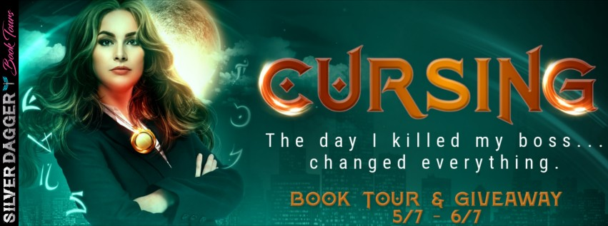 Cursing (The Angie Faust #1) by Lynne Murray ~ #Giveaway #Excerpt #BookTour