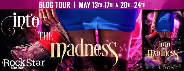 Into the Madness (The Villainous Wonderland) by A.K. Koonce ~ #Giveaway #BookTour