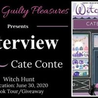 Interview: Cate Conte (Witch Hunt) ~ #BookTour #Giveaway