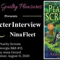 Character Interview: Nina Fleet (Peachy Scream by Anna Gerard) ~ #BookTour #Giveaway