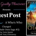 A Look At Who's Who in Changed (The Made Ones Saga) by Vicki Stiefel ~ #GuestPost #BookTour #Giveaway