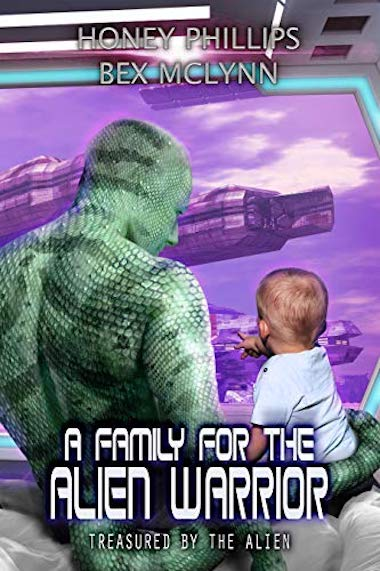 A Family for the Alien Warrior Book Cover