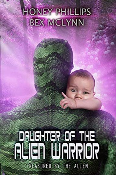 Daughter of the Alien Warrior Book Cover