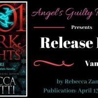 It's Release Day! Vampire (1001 Dark Nights)(Dark Protectors #12.5) by Rebecca Zanetti
