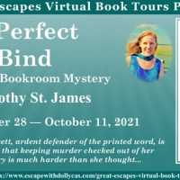 A Perfect Bind (Beloved Bookroom Mystery) by Dorothy St. James ~ #BookTour