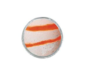 PowerBait Glow-in-the-Dark Glow Orange/White Turbo Dough 50g